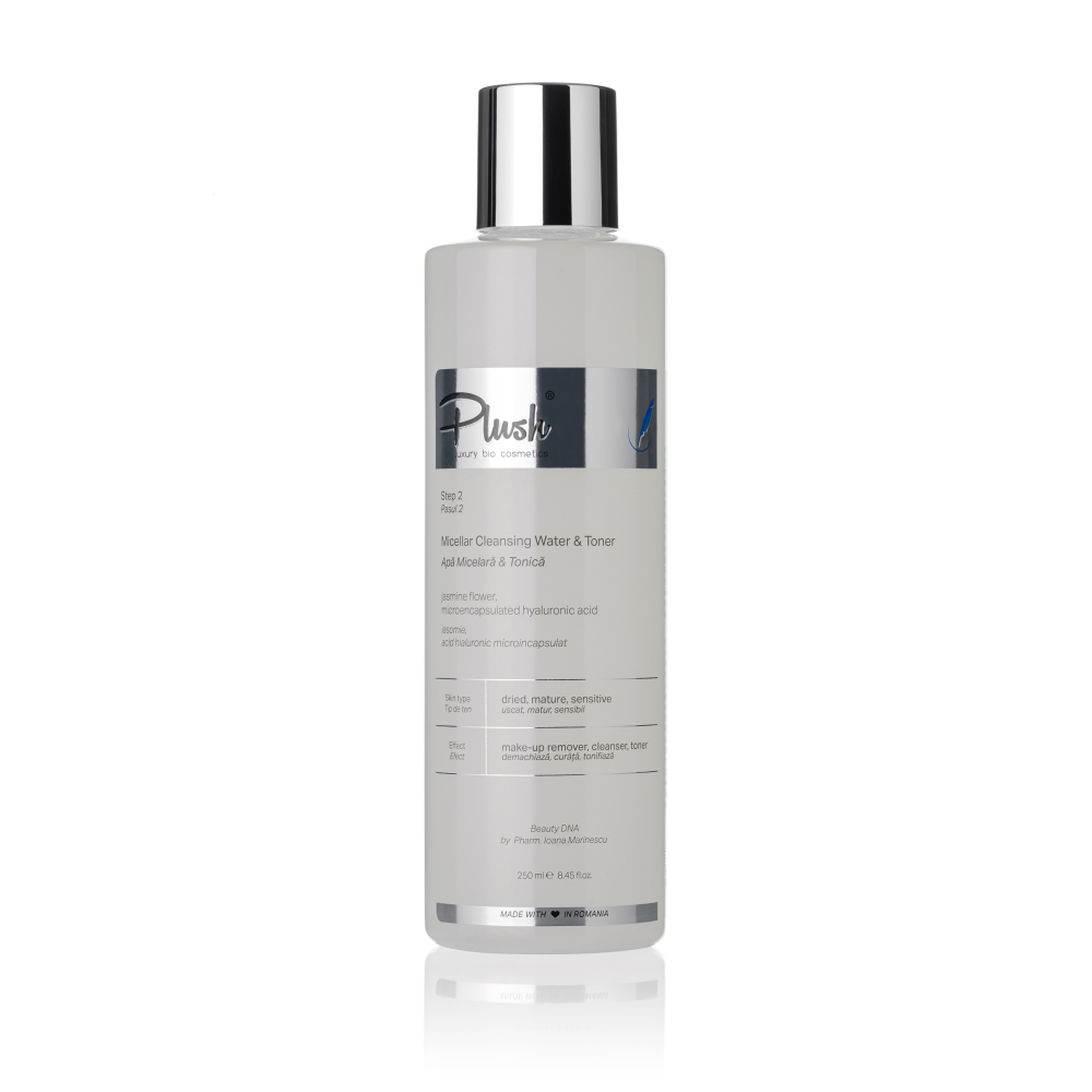 Micellar & Tonic water with jasmine and microencapsulated hyaluronic acid, 250 ml