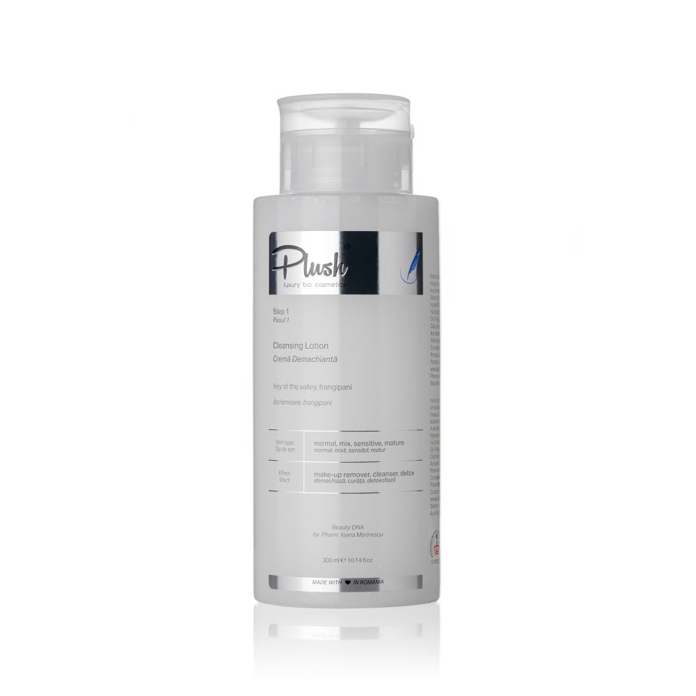 Cleansing cream with lily-of-the-valley and Frangipani, 300 ml