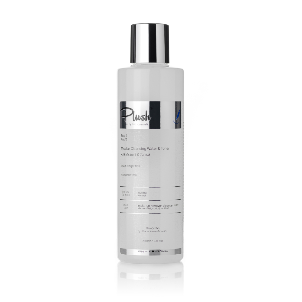 Micellar water with green tangerine and microincapsulated hyaluronic acid